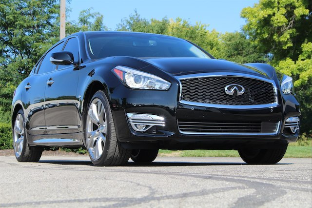 Pre-Owned 2018 INFINITI Q70L 5.6X LUXE SENSORY PROACTIVE 20 WHEELS