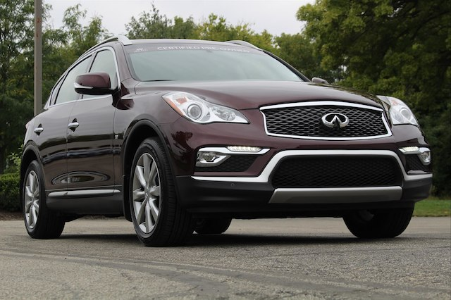 Certified Pre-Owned 2017 INFINITI QX50 PREMIUM PREMIUM PLUS