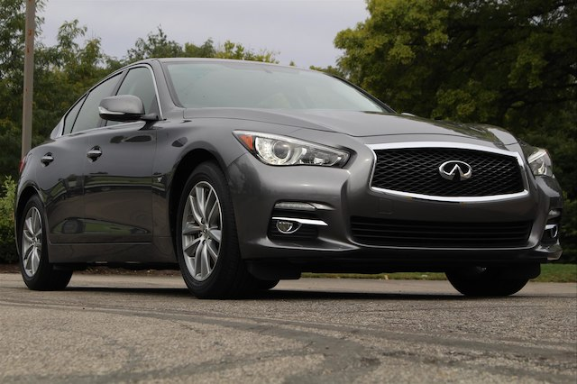 Pre-Owned 2015 INFINITI Q50 PREMIUM NAVIGATION LEATHER