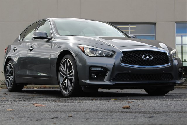 Pre-Owned 2015 INFINITI Q50 SPORT DELUXE TOURING