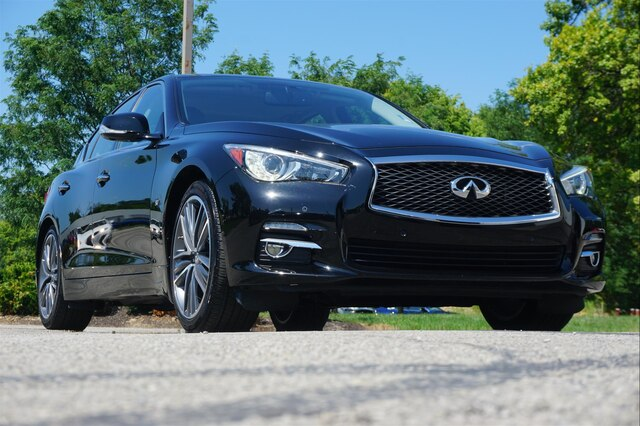 Pre-Owned 2015 INFINITI Q50 PREMIUM NAVIGATION DELUXE TOURING 19 WHEELS