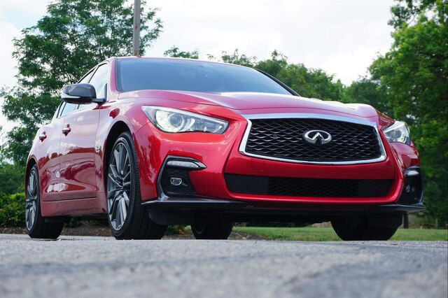 Pre-Owned 2019 INFINITI Q50 3.0t RED SPORT 400 SENSORY PROACTIVE CARBON FIBER