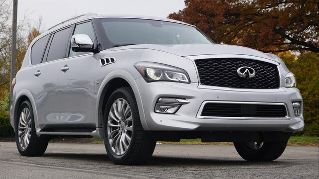 Pre Owned 2017 Infiniti Qx80 Driver Ist Theater Deluxe Technology