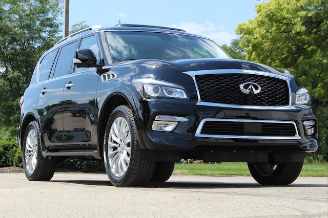 Pre-Owned 2017 INFINITI QX80 DRIVERS ASSIST 22 WHEELS""