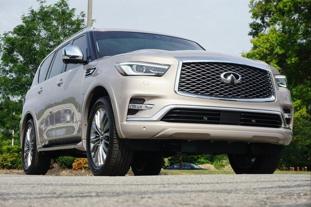Pre-Owned 2019 INFINITI QX80 LUXE SENSORY PROACTIVE PROASSIST THEATER
