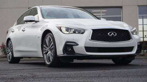 Pre-Owned 2018 INFINITI Q50 3.0t SPORT SENSORY PERFORMANCE PROASSIST