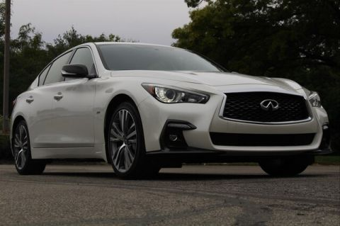 Pre-Owned 2018 INFINITI Q50 3.0t SPORT ESSENTIAL PERFORMANCE CARBON FIBER