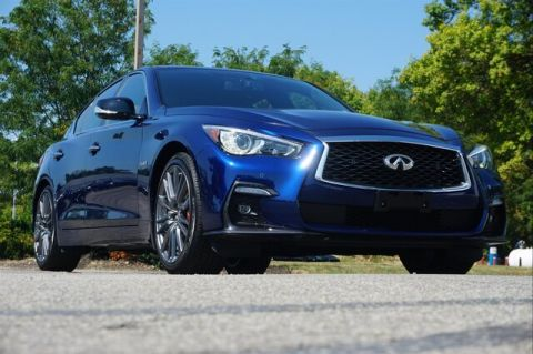 Pre-Owned 2019 INFINITI Q50 3.0t RED SPORT 400 SENSORY PROACTIVE