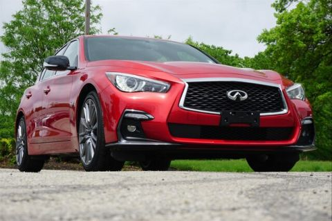 Pre-Owned 2018 INFINITI Q50 3.0t RED SPORT 400 SENSORY PROACTIVE