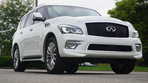Pre-Owned 2017 INFINITI QX80 DRIVERS ASSIST THEATER DELUXE TECHNOLOGY