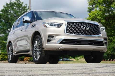 Pre-Owned 2019 INFINITI QX80 LUXE SENSORY PROASSIST PROACTIVE THEATER